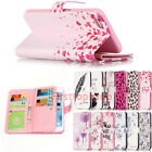 Luxury Magnetic 9 Card slot PU Leather Stand Flip Wallet Case Cover For iPhone