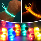 Pet Dog Collar Light Doggie Neck Strap Cool Glow Luminous LED Clip Adjustable