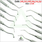 Set of 6 Amalgam Ball Tip Burnisher Composite Plastic Filling Instruments CE
