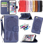 Hot Protector Pattern Flip Cover Stand Card Wallet Leather Case For iPhone+Gift