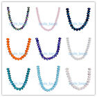 2x3mm Charms 5040# Rondelle Faceted Crystal Loose Glass Beads Jewelry 53Colors