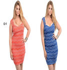 D1 New Womens Formal Wedding Cocktail Evening Spring Party Club Lace Sexy Dress