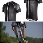 NEW 2016 Funkier Airlite Gents Cycling Short Sleeve JerseyIn Carbon/White J-791