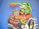 Rat Fink Pickup chevy truck blue  t shirt various sizes Ed Roth design