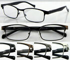 L421 Wayfarer Reading Glasses Spring Hinges +100+125+150+175+200+225+250+275+300