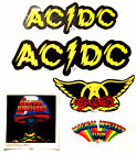 ROCK AND ROLL BAND WINDOW/BUMPER STICKERS  ~ A - I