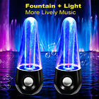 LED Dancing Water Show Music Fountain Light Computer Speakers for PC Laptop