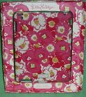 Lilly Pulitzer iPad Cover Featured In Scarlet Begonia Pink White Floral NIB