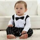Baby boys outfit 6-24 m TIE BOW for wedding christmas birthday christening suit