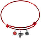 Atlanta Falcons NFL Football Wire Bangle Charm Bracelet Crystal PICK YOUR COLOR $12.99 USD on eBay