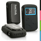 Silicone Rubber Gel Case for Sandisk Sansa Clip Jam MP3 (2015) Soft Skin Cover
