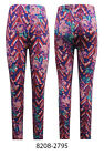 Hot Gal New Women's Fashion ROSES 3 in1 pack Fit Stretchy Leggings Pencil Pants