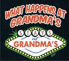 WHAT HAPPENS AT GRANDMA STAYS AT GRANDMA'S UNISEX T-Shirt 2-4=XS To 14-16=LG
