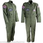 KIDS RAF FLIGHT SUIT RED ARROWS AGE 3 - 13 ARMY BOYS PILOT FANCY DRESS COVERALLS
