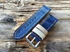 JEANS DENIM BLUE HANDMADE STRAP  CANVAS PAM  LUMINOR