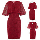 Lace Short Mother of the Bride Dresses Wedding Evening Party Formal Gown Dress