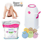 Diaper Champ regular Vorteils-Set Windeleimer Windelbox