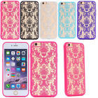 Hot Luxury Slim PC Matte Hard Case TPU Cover Skin For Various iPhone 6 6s 6 Plus