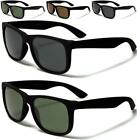 NEW BLACK BROWN POLARIZED SUNGLASSES MENS LADIES WOMENS RETRO VINTAGE DRIVING
