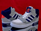 ADIDAS Originals Hardcourt Defender Higt-Top Sneaker Weiß/grau/blau Q22070 Neu