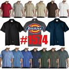 Kyпить Dickies Mens Short Sleeve Work Uniform Button Up Casual Shirt 1574 Sizes S-6XL на еВаy.соm