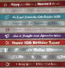 10M OF PERSONALISED RIBBON ANY WORDING OF YOUR CHOICE 10MM WIDTH L@@K!!!!