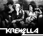 Poster For Krewella - Electronic Dance Music Group Art Silk Fabric poster