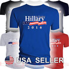 Hillary Clinton For President T-Shirt Tee USA 2016 Democrat Democratic Party US