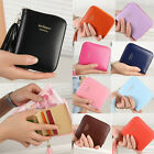 New Women Ladies Small Leather Coin Purse Credit Card & Key Ring Wallet Pocket