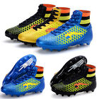 Children Men's High-Top Spike Soccer Shoes Trainer Cleats Nail Football Shoes