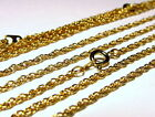Gold Plated Rope Chains Wholesale 11 and 22 Piece Lots Necklace Lot
