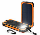 Waterproof 300000mAh Dual USB Portable Solar Charger Solar Power Bank For Phone