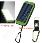 Waterproof 900000mAh Dual USB Portable Solar Charger Solar Power Bank For Phone
