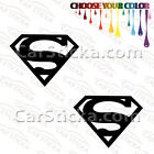 "2 of 5"" Superman Logo /A car truck window bumper stickers decals"