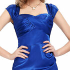 Vintage Style 50s 60s Hollowed Black Evening Pin Up Prom Retro Dress