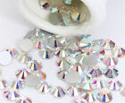 SS12 3mm Crystal Glass Non HotFix Rhinestones for Nail/phone Art Decoration DIY