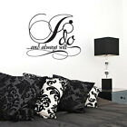 I Do And Always Will - Wedding Quotes Wall Decals