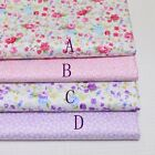 50cm*160CM Flower 100%cotton fabric Quilting Quilt Clothes Bedding Sewing DIY08
