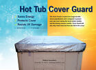 8x8 heavy duty spa cover chemical resistant UV protector retains heat