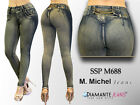 Colombian style Levanta Cola Skinny jeans butt lift  push up  M. Michel SSPM688