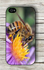 INSECT LIFE BEE POLLINATING FLOWER #5 CASE FOR iPHONE 4 5 5C 6 -dcv8Z
