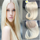 "Free Style 4""X4"" Straight Swiss Lace Closure 613 Blonde Virgin Human Hair Weave"