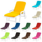 Water Resistant Shaped Cushions for Resol Palamos Folding Sun Lounger Garden Pad