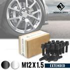 MISSION SPEED M12X1.5 60MM EXTENDED WHEEL BOLT LUG NUTS 20PCS KIT SET 2 COLORS