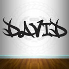 WALL TABLET LAPTOP STICKER ART GRAFFITI PERSONALISATION CUSTOM NAME BOYS GIRLS