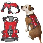 Comfortable HEAVY DUTY Dog Harness Handle Lift Padded Medium Large RED M, L, XL