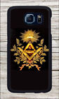 FREEMASON ILLUMINATI COMPASS SYMBOL CASE FOR SAMSUNG GALAXY S6 -kac3Z