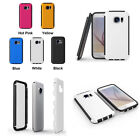For Samsung Galaxy S6 Hybird Slim Cover Hard Case with Build in Screen Protector