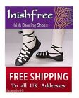 NEW IRISH DANCING POMPS SOFT SHOES SIZES 2 3 4 5 + MORE INISHFREE DANCE PUMPS