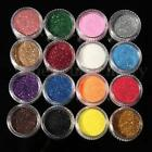 60 Color Makeup Loose Powder Glitter Eyeshadow Eye Shadow Face Body Cosmetic HOT